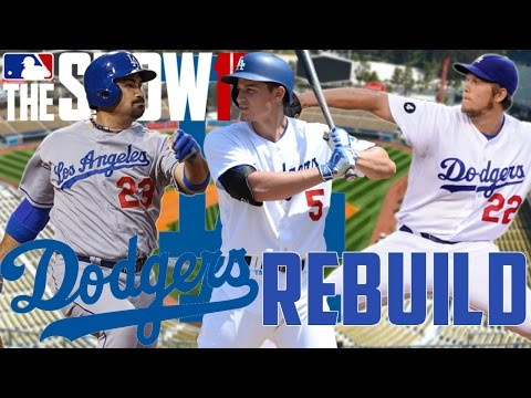 REBUILDING THE LOS ANGELES DODGERS! | MLB THE SHOW 17 FRANCHISE MODE