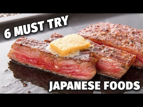 6 Must Try Japanese Foods | Iwate