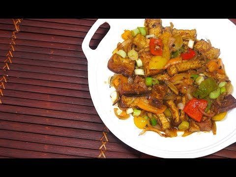 Sweet n Sour Tofu - Tofu Recipes - Easy Sweet n Sour - Sweet & Sour Sauce - How to make Sweet n Sour