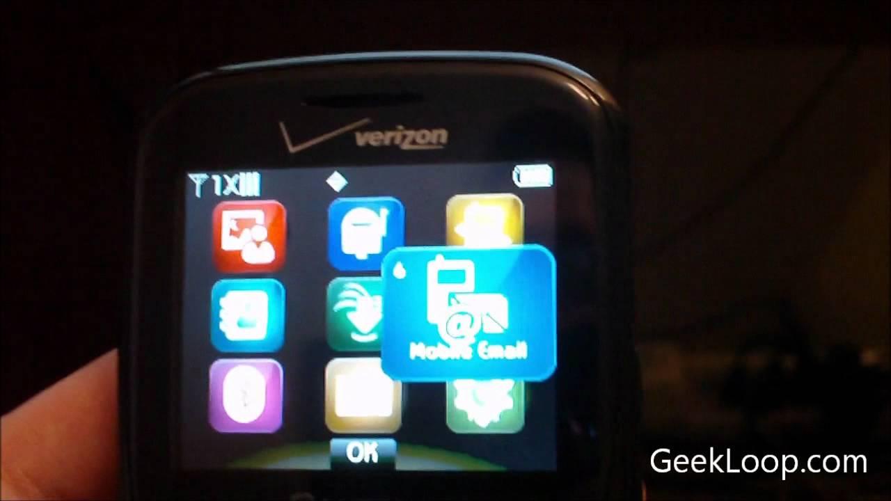 overview of pantech caper no contract phone for verizon prepaid rh youtube com Pantech Caper Drivers Verizon Pantech Jest 2