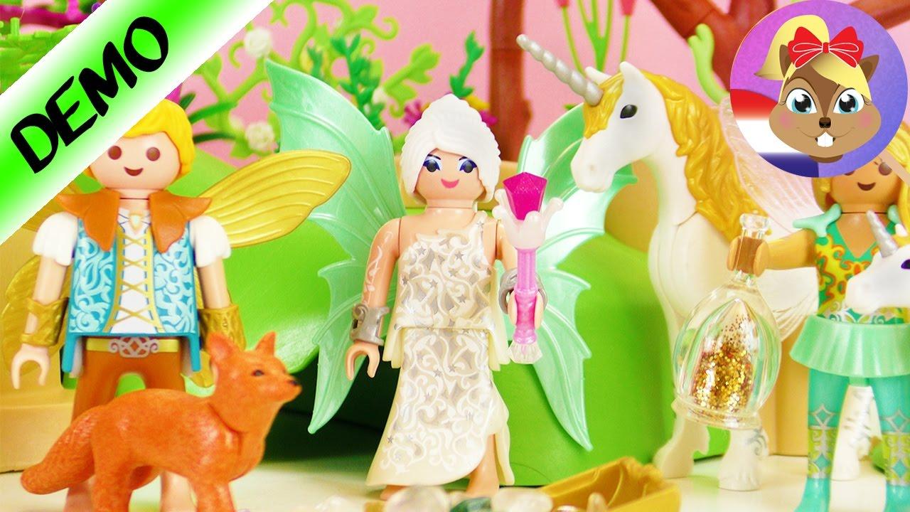 Playmobil magische feeëntuin met eenhoorns en edelstenen