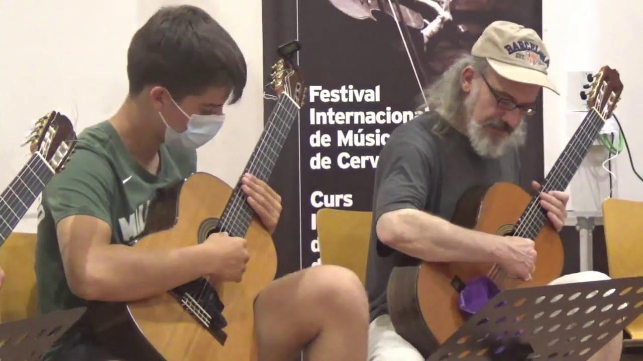 CÀTEDRA CERVERA Emili Pujol   Gimnàstica per a guitarra.
