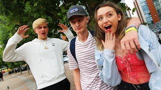 I Spent 24 hours with MORGZ Girlfriend & He Didn't Know... *HE GOT MAD*