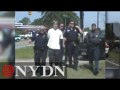 Dash cam videos show arrest of Dylann Roof