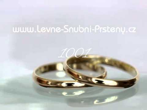 Snubni Prsteny Lsp 1001 Youtube