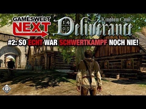 So ECHT war SCHWERTKAMPF noch nie! | Gameswelt NEXT: Kingdom Come: Deliverance #2