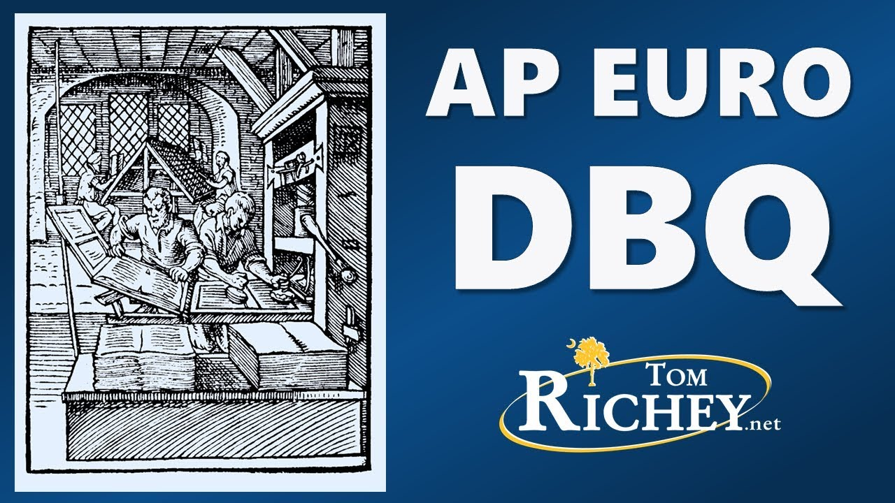The AP Euro DBQ Updated For 2017 Rubric