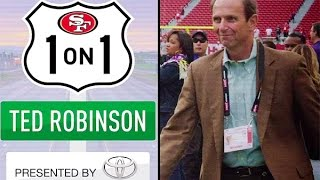 1-on-1 with the Voice of the 49ers Ted Robinson