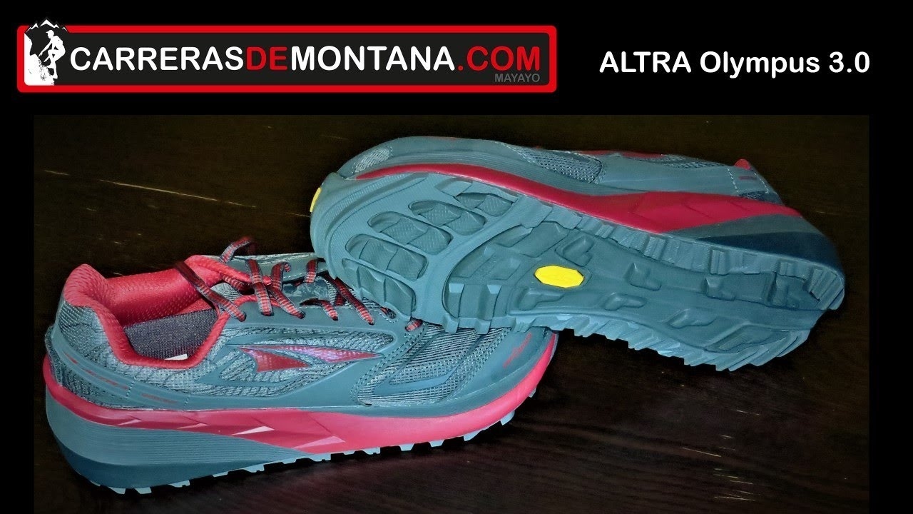 Altra Running Drop Olympus 3 Maximalistas36mmCon Mayayo 0Zapatillas CeroAnálisis Trail kiTOPXuZ