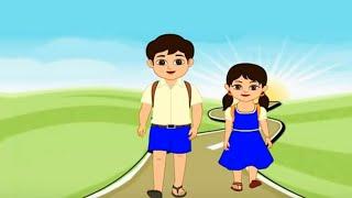 छोटेसे बहीणभाऊ | Brothers & Sisters I Rakshabandhan I Nursery Rhymes I Kids I Songs I Cartoon