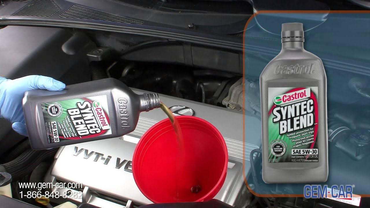 Why Use Semi Synthetic Oil Vs Regular Oil Castrol Napa Powered By Gem Car Youtube
