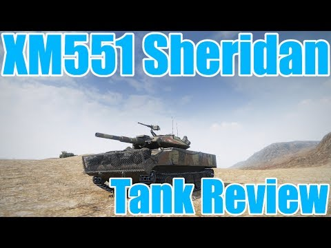World of Tanks: Tank Review: XM551 Sheridan (Ace Tanker Gameplay)