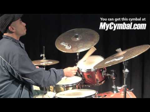 "Bosphorus 14"" Master Vintage Hi Hat Cymbals (MV14H-1031210A) - Played by Ali Jackson"