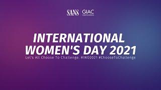 SANS Institute Celebrates International Women's Day