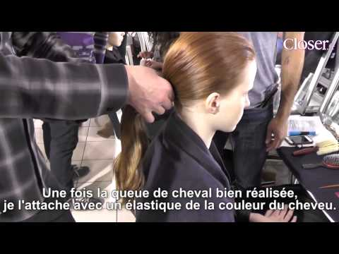 Fashion Week : Giambattista Valli opte pour une queue de cheval naturelle