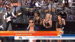 Robin Thicke Take It Easy On Me Live