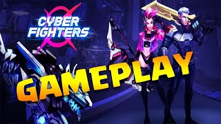 Cyber Fighters: League of Cyberpunk Stickman 2077 Android Action Gameplay 2021 screenshot 2