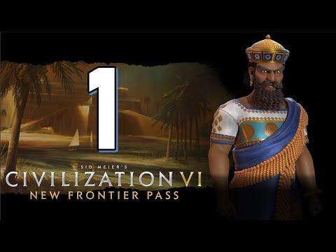 Герои и легенды - Прохождение Civilization 6 #1 [Вавилон на Божестве]