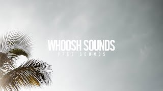 FREE Whoosh Transition Sound Effects - Creative Ryan