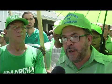 Marcha Verde exige resultados de la auditoría realizada en el cabildo de la Vega