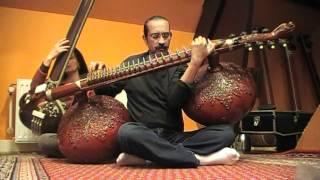 Bahauddin Dagar playing Raga Bhairav Pt1