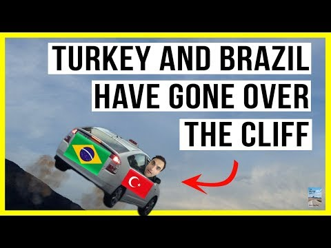 Turkey and Brazil in PANIC MODE as Currency Meltdown Continues! Economy Weakening!