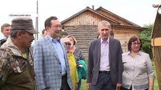 Айсен Николаев посетил с рабочим визитом Олекминский район Якутии