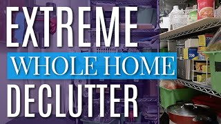 EXTREME WHOLE HOME DECLUTTER | KON MARI PURGING BEFORE & AFTER FOR CLEAN HOME MOTIVATION!