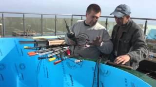 СПА бассейн за день(изготовление СПА бассейна из полипропилена на балконе в хорошем качестве., 2016-04-19T14:10:25.000Z)