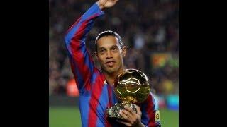 أول هدف سجله رونالدينيو مع برشلونة 3 سبتمبر 2003