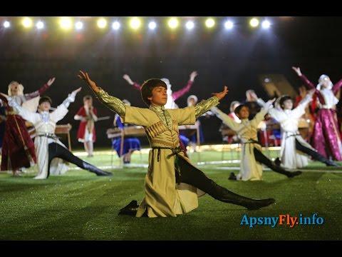 День города, Сухум-2500. Выступление детских танцевальных коллективов. Часть 2-ая.