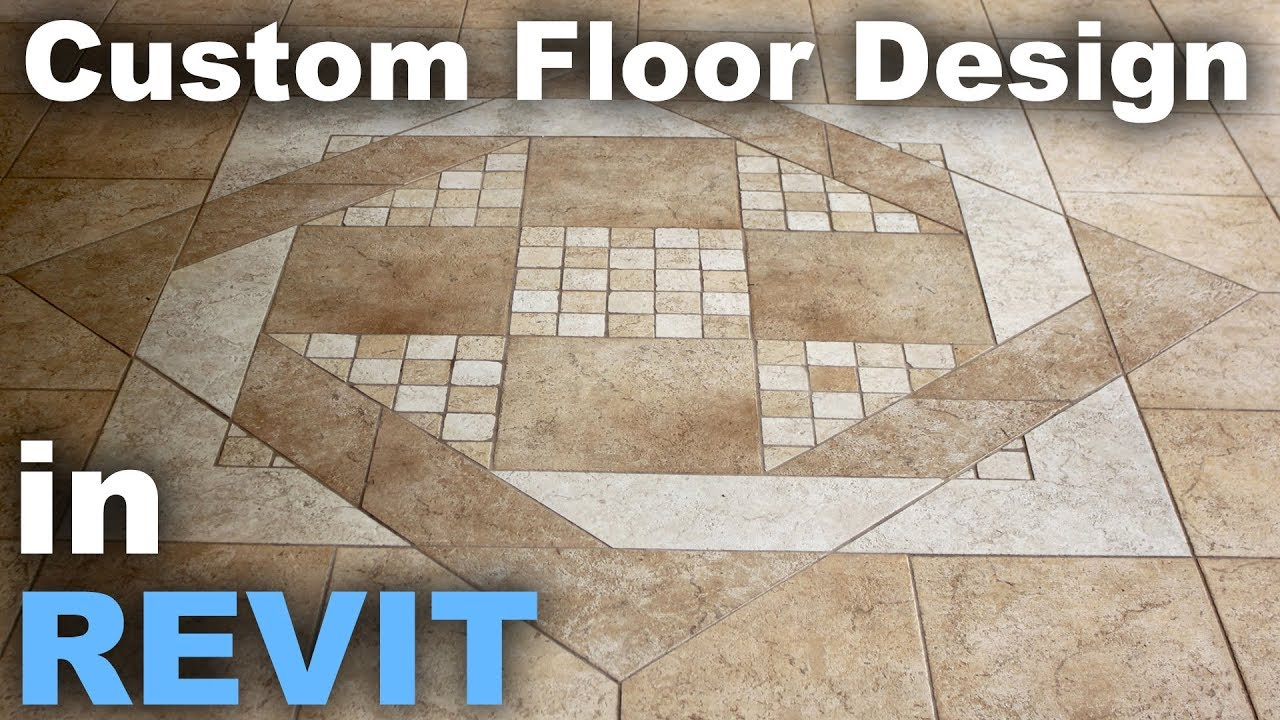 custom floor patterns in revit tutorial