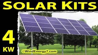Solar Panel Kits - Solar Panel Kit