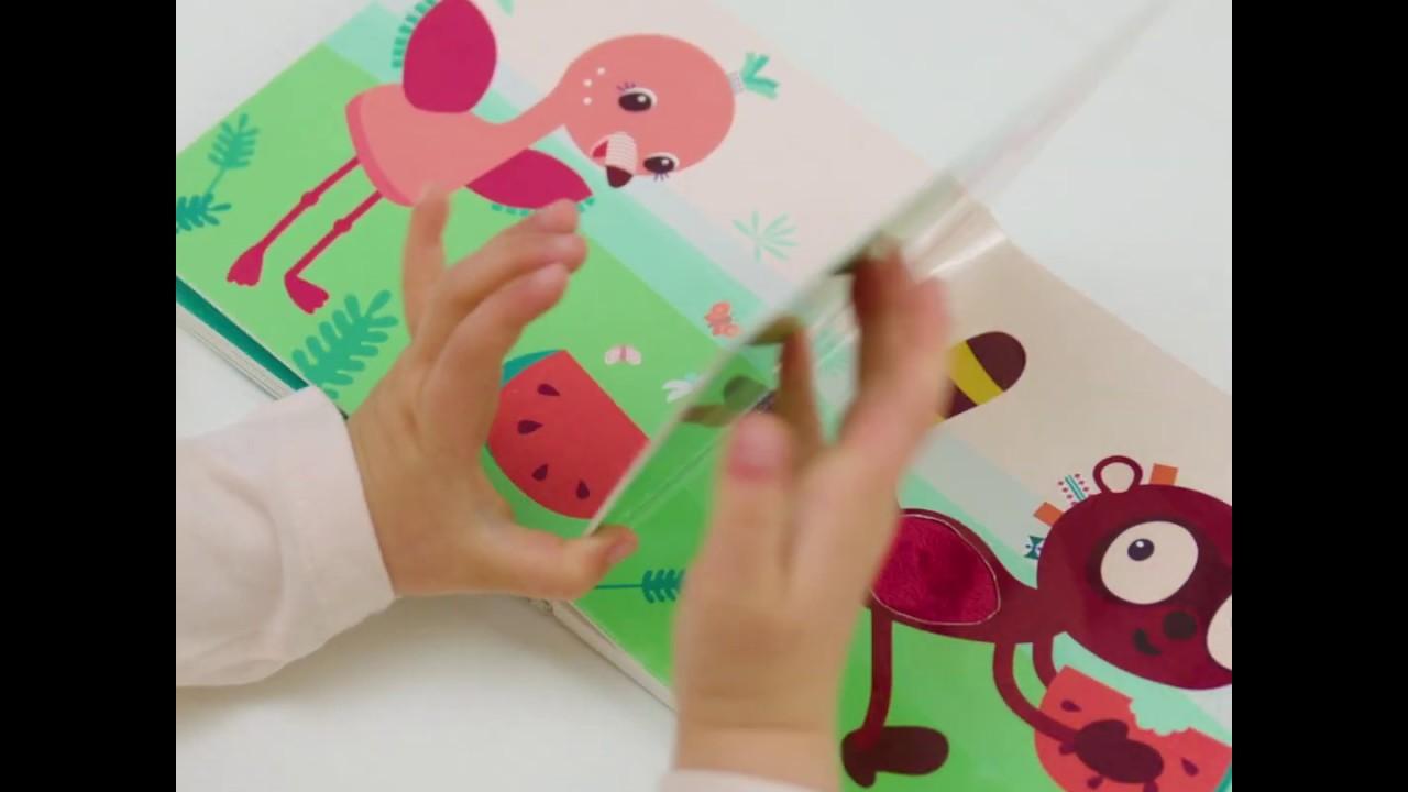 Livre Bebe Tactile Et Sonore Jungle Jam Lilliputiens Berceaumagique Com