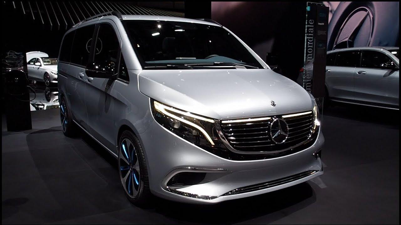 Mercedes Benz Concept EQV - YouTube
