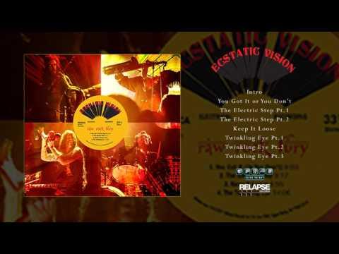 ECSTATIC VISION - Raw Rock Fury [Full Album Stream]