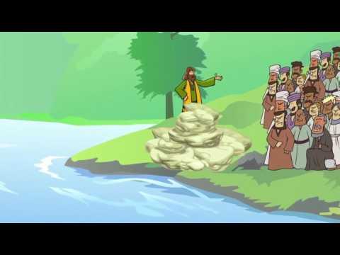 The Israelites Crossed The Jordan River