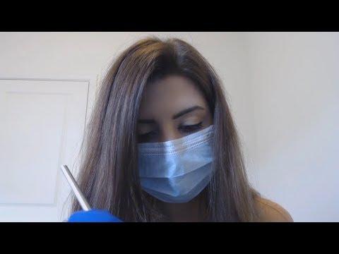 [ASMR] Dentist Roleplay - Medical ASMR I Soft Spoken I Face Touching I Scraping & Gloves