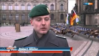 Bundeswehr Die Offizierschule des Heeres in Dresden OSH Reportage