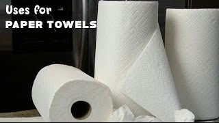 Uses for Paper Towels