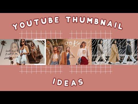 AESTHETIC YOUTUBE THUMBNAIL IDEAS (2019) thumbnail