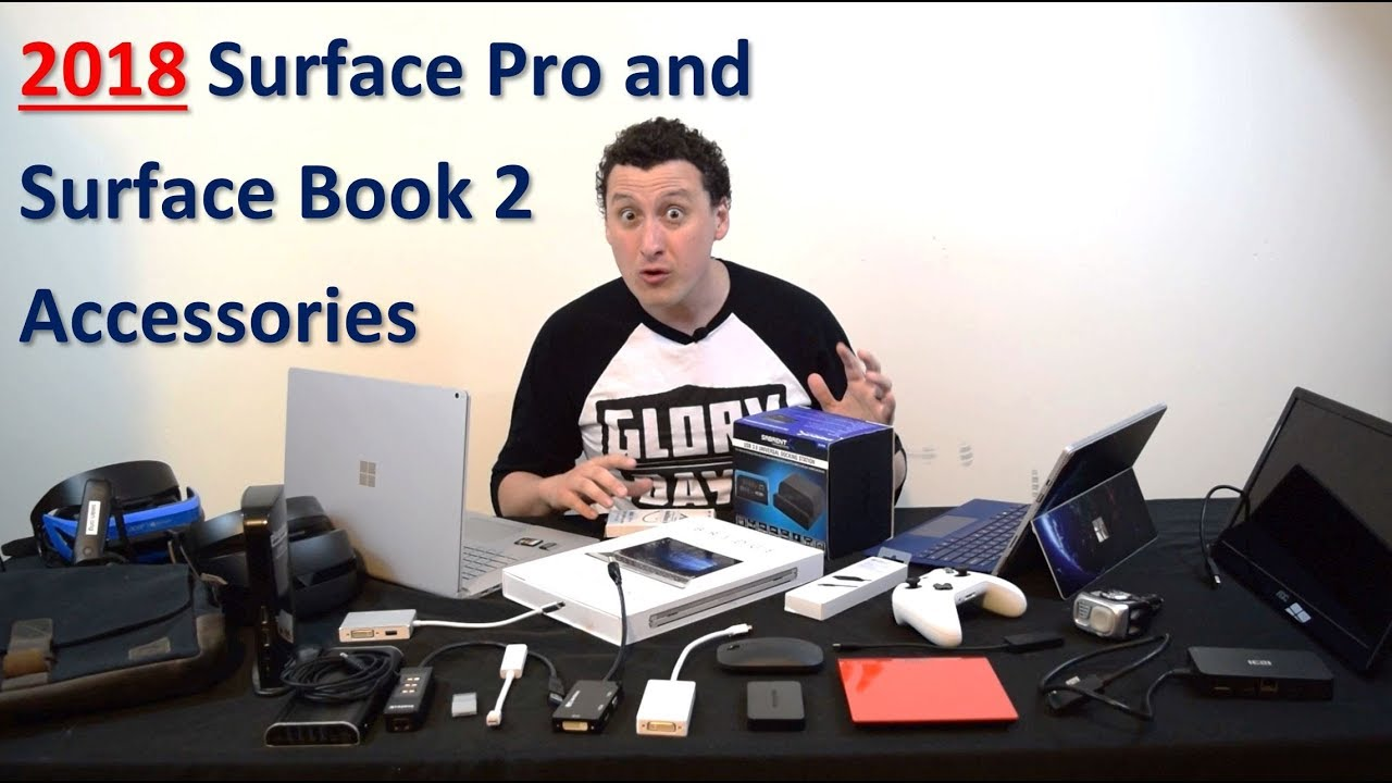 Ultimate Surface Pro and Surface Book 2 Accessories   2018 Edition