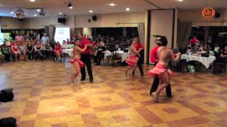 Art In Motion Pro Dancers Salsa Performance
