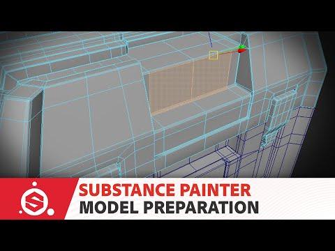 Substance Painter Tutorial – Model Preparation 02: Material setup