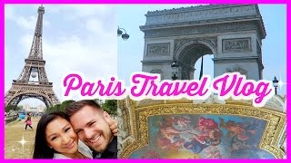 PARIS TRAVEL VLOG: Eiffel Tower, the Louvre, Verjus, Champs Elysees(Hey friends! Here is our Paris travel vlog! Watch our Barcelona, Spain travel vlog too: https://www.youtube.com/watch?v=WIdSIK6ezDY We visited the Eiffel ..., 2016-06-14T20:54:28.000Z)