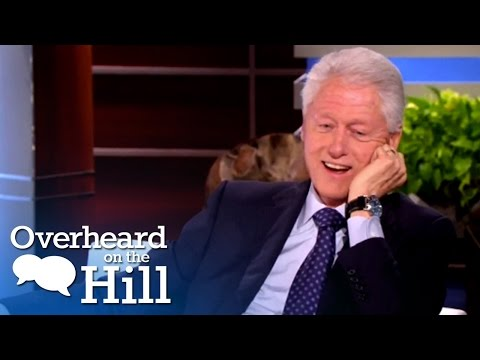 Bill Clinton Loves 'House Of Cards & 'Scandal' | Overheard On The Hill | MSNBC