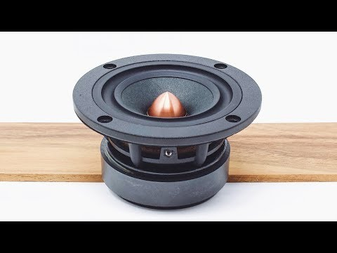 The Best Driver For Your First DIY Speaker Build? || Dayton Audio PS95 Point Source Driver Review