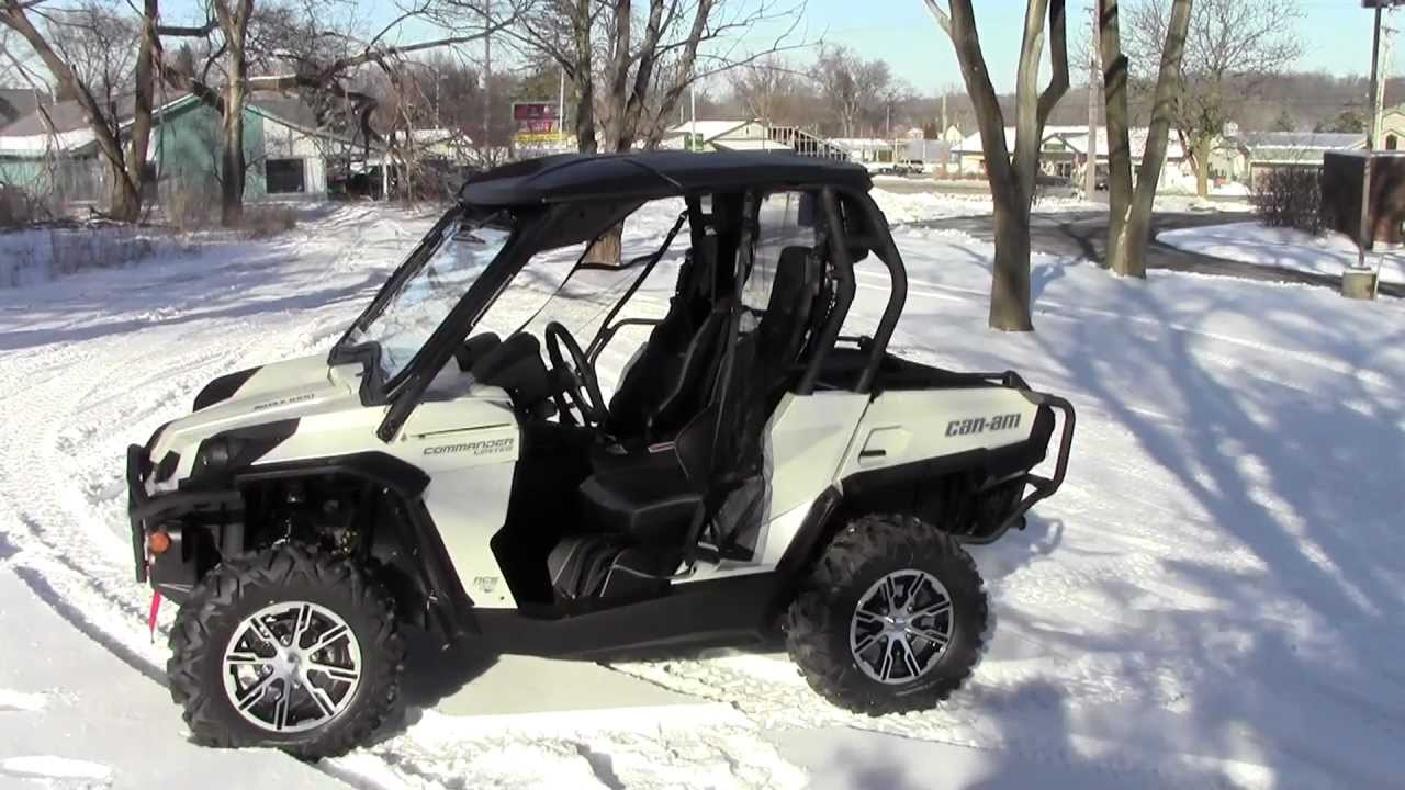 Can Am Commander For Sale >> 2013 Can-Am Commander 1000 Limited - YouTube