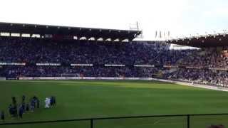 Club Brugge - Lokeren 05-05-13 na de wedstrijd 'Epic'