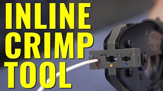 The ULTIMATE WIRE CRIMPER - Why You Need an Elite Inline Crimp Tool - Eastwood